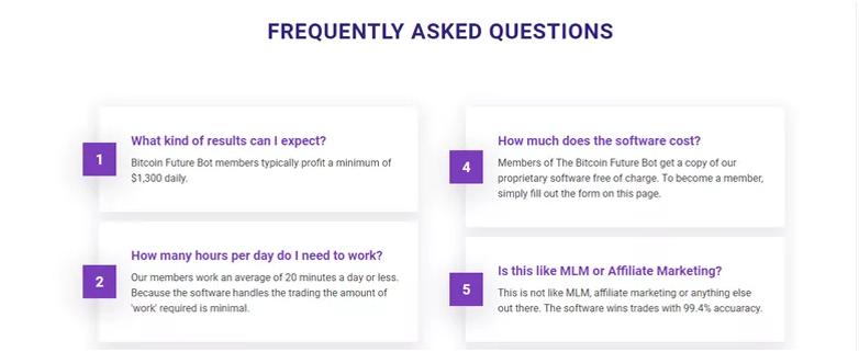 The Bitcoin Future FAQs